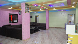 Hotel Somnath Sagar - Seating Lounge At Reception